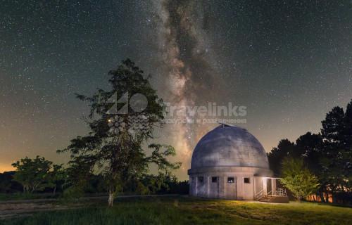 Крымская обсерватория, Бахчисарай, Чуфут-Кале и Марсианское озеро