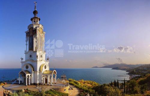 В Крым из Новороссийска: Долина привидений, крепость Фуна, храм-маяк