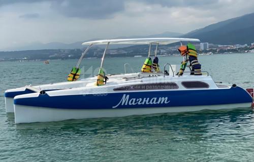 Морская рыбалка на катамаране «Магнат»