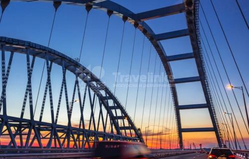 В Керчь по Крымскому мосту
